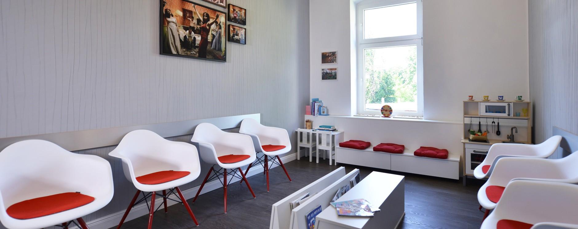 Wartezimmer - Zahnarzt Berlin Lichtenberg
