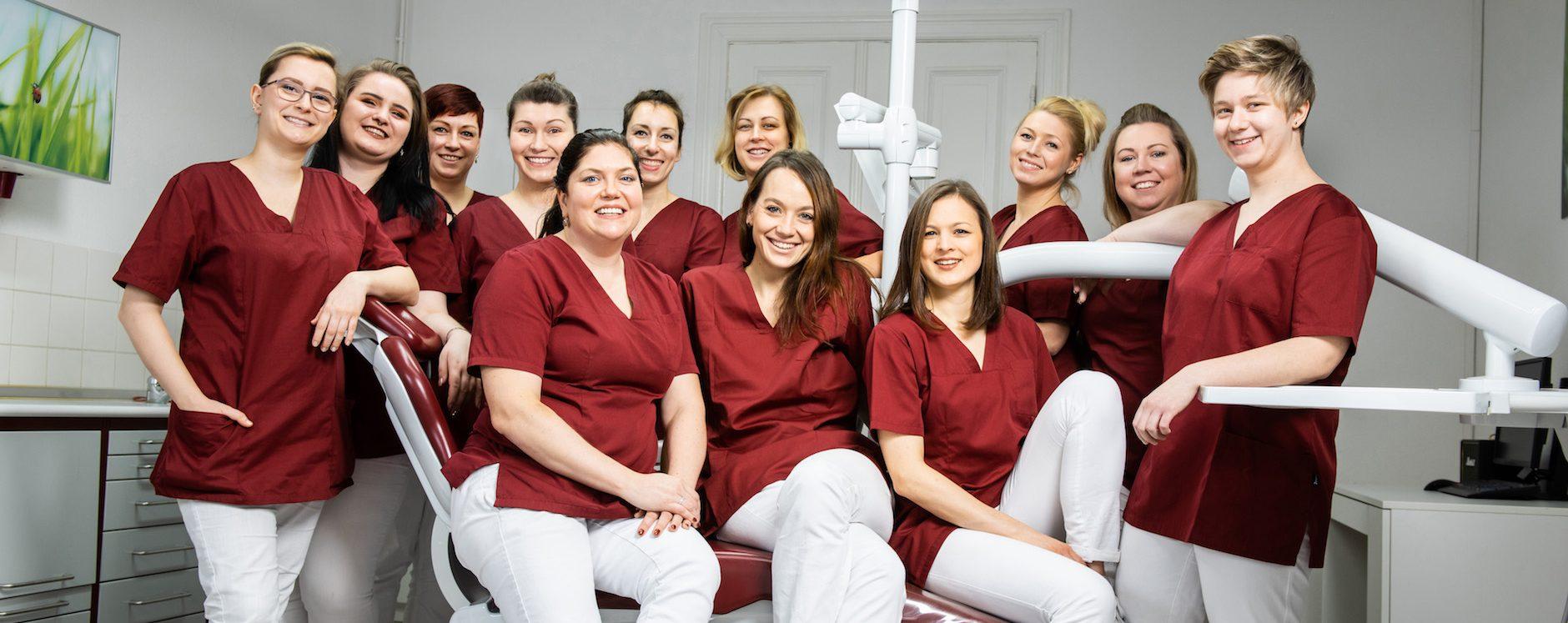 Zahnarzt berlin Lichtenberg Team